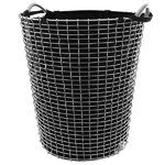 Laundry bag for wire basket Classic 80, black