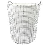 Laundry bag for wire basket Classic 80, off-white