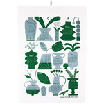 Calendar tea towel 2019, grey
