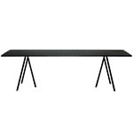 Loop Stand table 200 cm, black