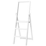 Step stepladder, white