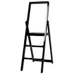 Step stepladder, black