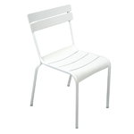 Luxembourg chair, cotton white