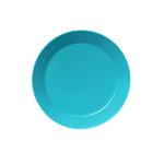Teema plate 17 cm, turquoise
