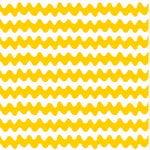 Pikku Lokki kangas, valkoinen - keltainen