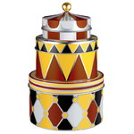 Circus tin boxes, set of 3