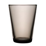 Kartio tumbler 40 cl, sand, set of 2