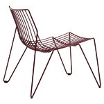 Tio easy chair, wine red