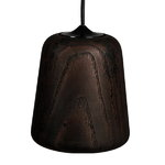 New Works Material lamp, smoked oak