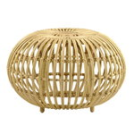 Sika-Design Franco Albini Exterior ottoman, large, natural