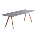 Copenhague CPH30 table, oak-grey