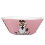 Moomin bowl Fuzzy, pink