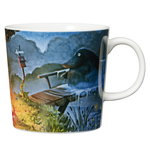 Arabia Moomin mug, Night of the Groke