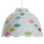 Louis Poulsen LC Shutters lamp, colourful