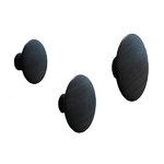 Muuto The Dots single hook, black