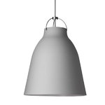Caravaggio P3 lamp, matt light grey