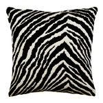 Zebra cushion cover, 40 x 40 cm
