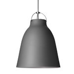 Caravaggio P3 lamp, matt dark grey