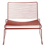 Hee lounge chair, rust