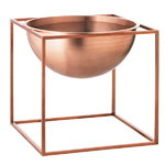 Kubus Bowl, large, copper