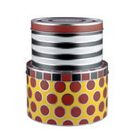 Circus tin boxes, set of 2