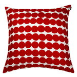 R�symatto cushion cover, red-white