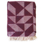 Twist a Twill blanket, purple