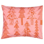 Kuusikossa pillowcase, pink - red