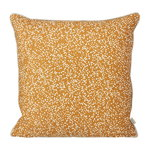 Dottery cushion, curry