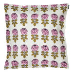 Vihkiruusu cushion cover 45 x 45 cm, off white - pink - dark blu