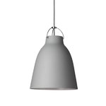 Caravaggio P2 lamp, matt light grey