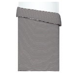 Tasaraita duvet cover 150 x 200 cm, black - white