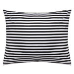 Tasaraita pillowcase, black-white
