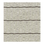 Woodnotes Line rug, stone - black