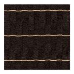Woodnotes Line matto, musta - luonnonvärinen