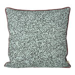 Dottery cushion, dusty blue