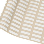 Artek Siena pinnoitettu kangas, 145 x 300 cm, hiekanruskea - valkoinen