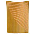 Røros Tweed Bislett throw 200 x 135 cm, peach - pistachio