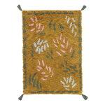 Finarte Väre rug, 140 x 200 cm, mustard