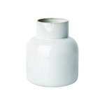 CM earthenware vase, large, pale grey