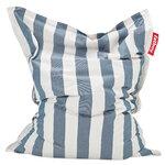 Fatboy Original Outdoor bean bag, striped, ocean blue - white