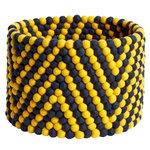 Bead kori, 40 cm, keltainen - tummansininen