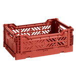 HAY Colour crate, S, terracotta