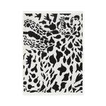 Iittala OTC Gepardi kylpypyyhe, musta - valkoinen
