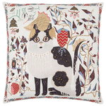 Les Chats Ryder cushion cover, linen