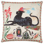 Les Chats Putte cushion cover, linen