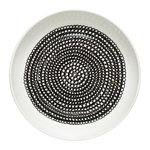Marimekko Oiva - Siirtolapuutarha Räsymatto lautanen 20,5 cm, valkoinen -