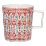 Vaja Finland Sirkus mug 4 dl, red - green