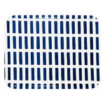 Siena tray 43x33cm, white-blue