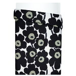 Unikko duvet cover, black-white